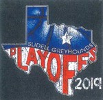 slidell greyhounds playoff shirt 2019