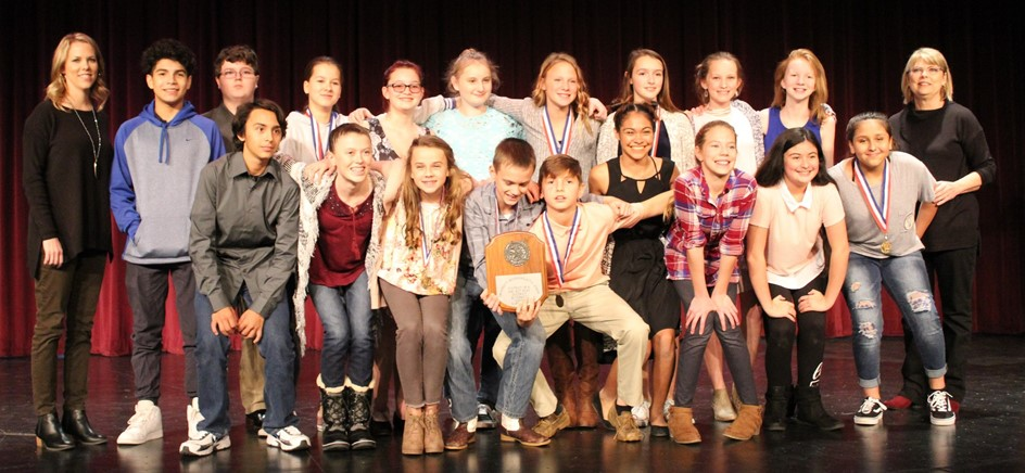 district champion junior high one act play