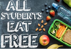 All students eat free.